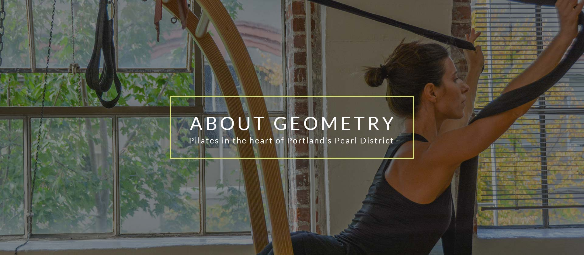 About Geometry Pilates