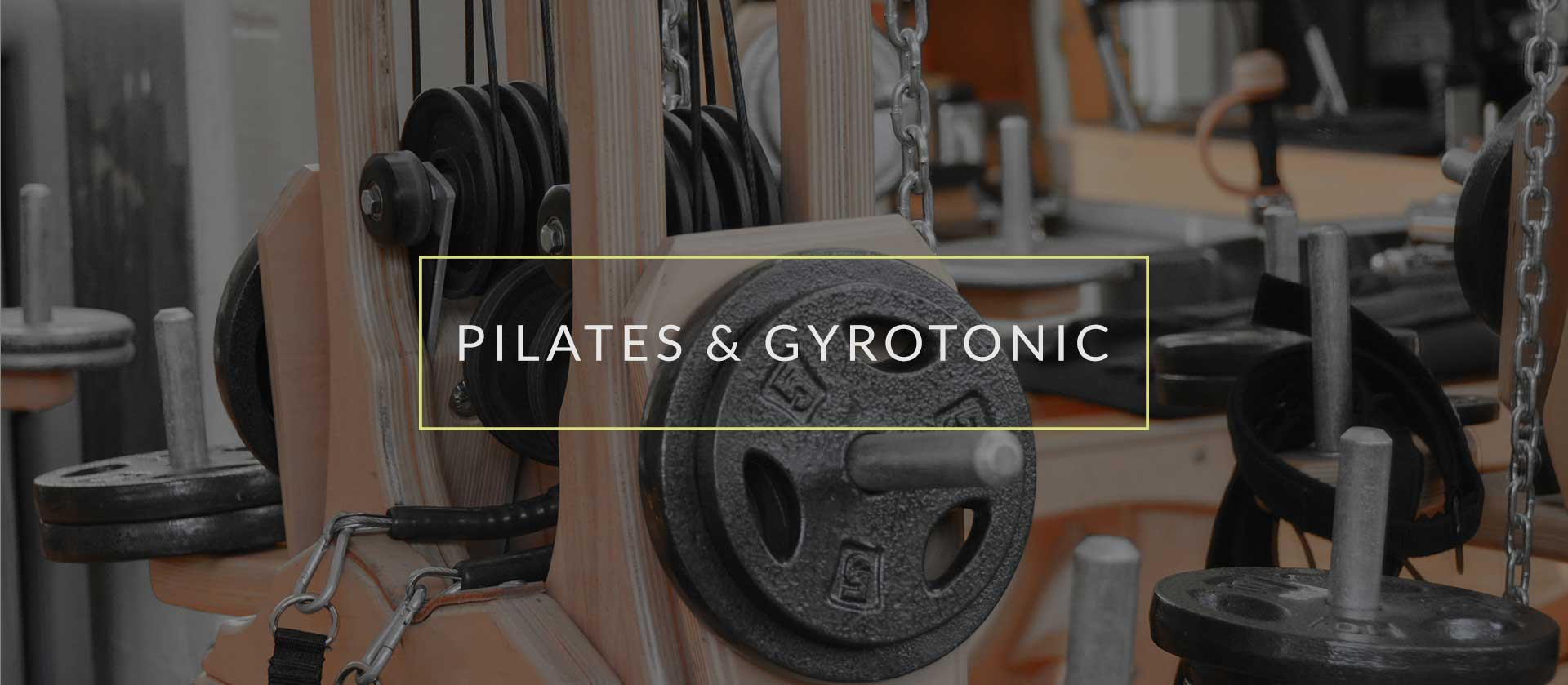pilates and gyrotonics